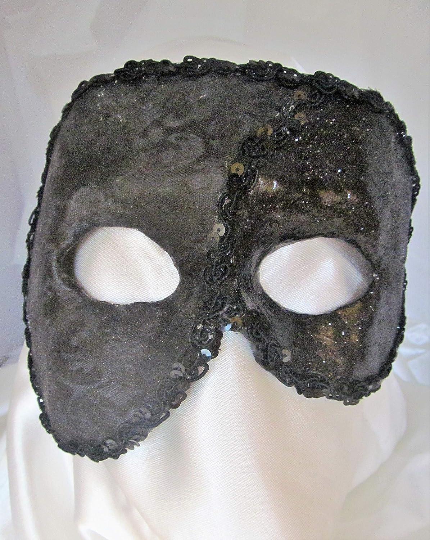 Le Fantôme de l'Opéra Ranking TOP1 Black mask-Phantom In stock half mask-