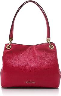b17e389159ddb8 Michael Kors Raven Large Pebbled Leather Shoulder Bag