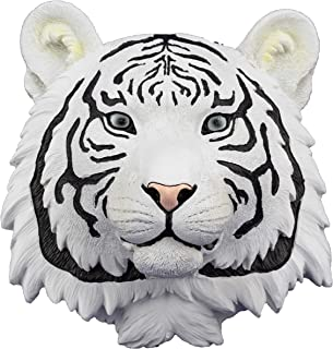 White Tiger Head 3D Wall Art by DWK