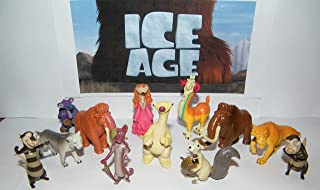 Ice Age Movies Deluxe Party Favors Goody Bag Fillers Set of 13 Figures with Scrat the Squirrel, Diego, Sid, Granny, the Possum Brothers and Many More!