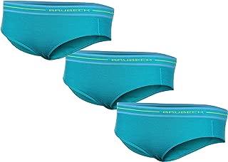 Air Jet Tessuto Senza Saldatura Cotone//Poliammide Sport Brubeck 5X BI10020A Comfort Cotton Bikini Slip Donna Intimo qualit/à Premium