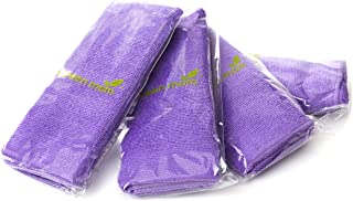 Screen Mom Screen Cleaning Purple Microfiber Cloths (4-Pack) - Best for LED, LCD, TV, iPad, Tablets, Computer Monitor, Fla...