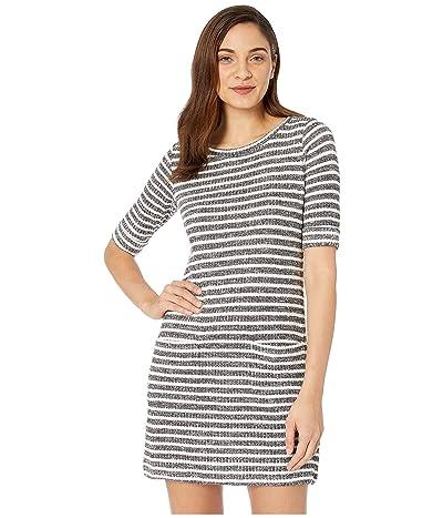 BB Dakota In the Pocket Stripe Shift Dress (Ivory) Women