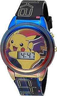ساعة يد البوكيمون للأولاد مع حزام بلاستيكي، متعدد الألوان 15 موديل POK4210AZ)