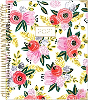 $22 » bloom daily planners 2021 Hardcover Calendar Year Goal & Vision Planner (January 2021 - December 2021) - Monthly/Weekly Co...