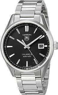 TAG Heuer - WAR211A.BA0782 - Reloj para Hombres, Correa de Acero Inoxidable Color Plateado