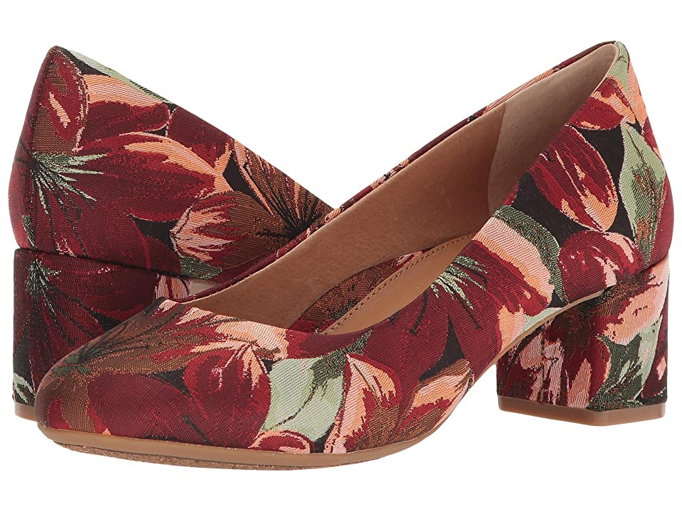 CC Corso Como Gwynn (Red Multi Floral) High Heels