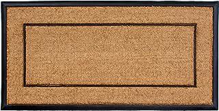 "Calloway Mills AZ101632448NP Maxen Doormat, 24"" x 48"", Natural/Black"