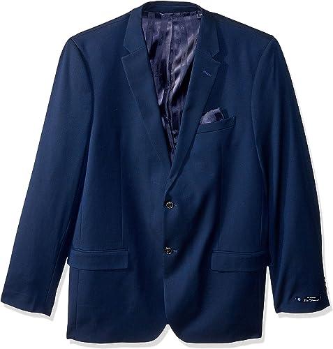 Ben Sherhomme Hommes's Modern Fit Suit Separate (Blazer and Pant), bleu, 40R