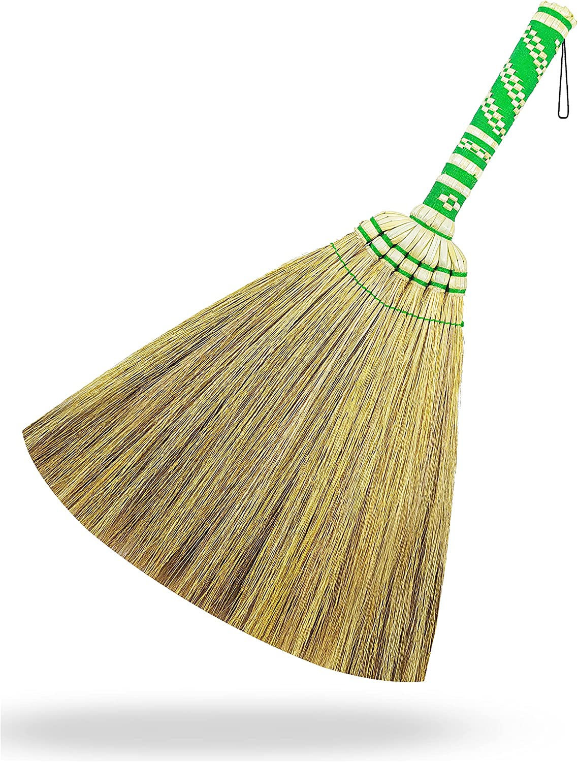 All overseas stores are sold Brush Set L17.5 Inch Natural Grass with Bamboo Handle Broom Mini