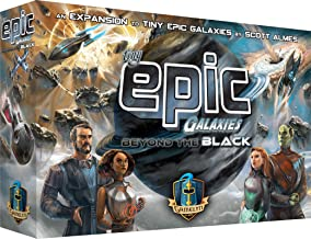 Tiny Epic Galaxies: Beyond The Black Space Board Game Expansion - Expand Your Galaxy