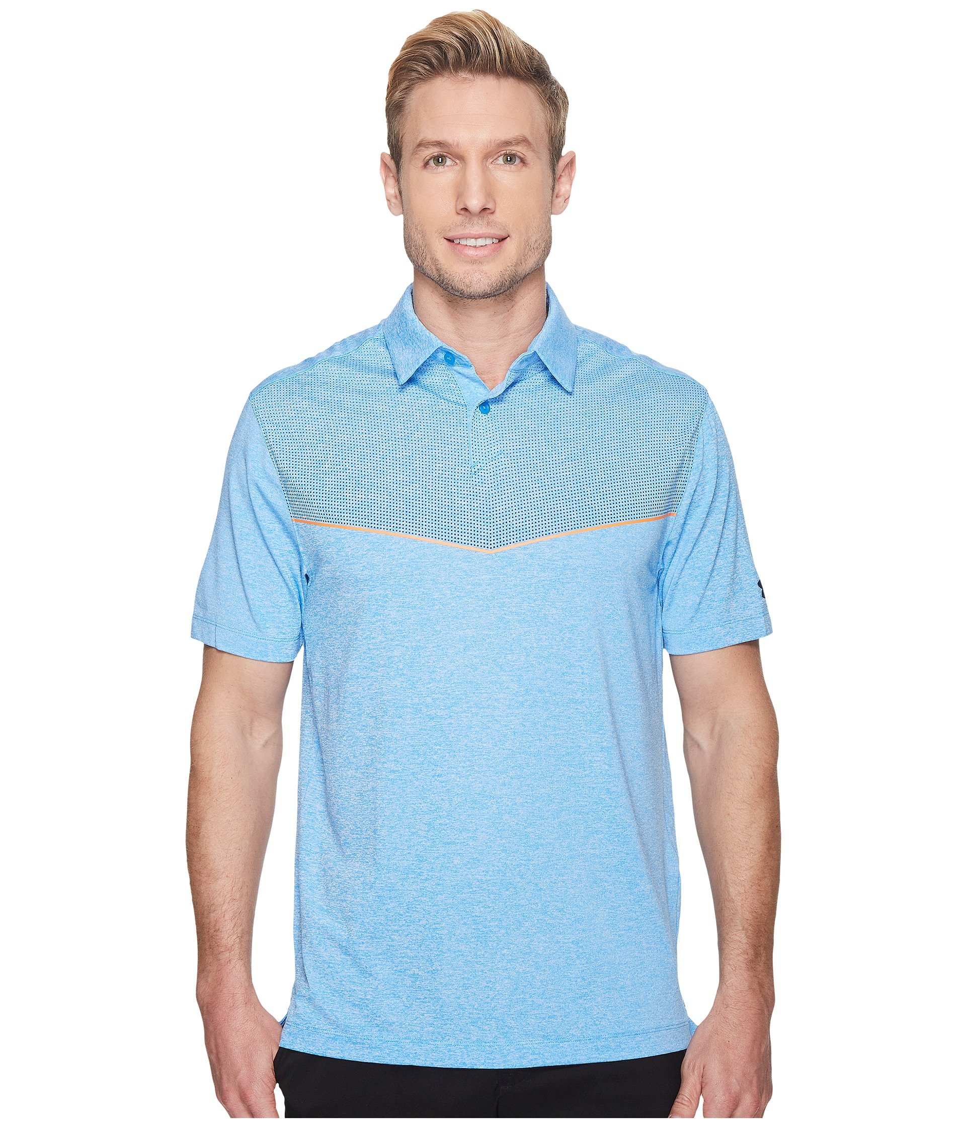 Camiseta Tipo Polo para Hombre Under Armour Golf CoolSwitch Graphic Polo  + Under Armour en VeoyCompro.net