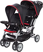 Baby Trend Sit n Stand Double Stroller, Optic Red
