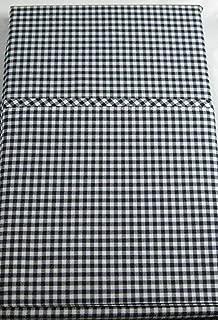 Set of 2 Ralph Lauren Classic King Gingham/Polo Navy Pillow Cases- -100% Premium Cotton-