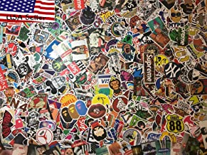 MRX Planet 100 Random Sticker Pack (100-Pcs), Random Stickers Decals Vinyls for Laptop,Kids,Teens,Cars,Motorcycle,Bicycle,Skateboard Luggage,Bumper Stickers Hippie Decals Bomb Waterproof