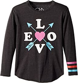 Vintage Jersey Love Arrows Tee (Little Kids/Big Kids)