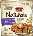 Tyson Naturals 100% Whole Grain Breaded Chicken Breast Chunks, 20 oz. (Frozen)