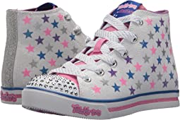 SKECHERS KIDS Twinkle Toes: Sparkle Glitz - Shiny Starz 10863L Lights (Little Kid/Big Kid)