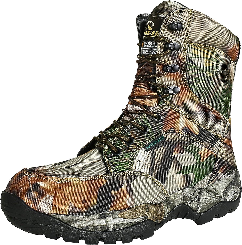 R Some reservation RUNFUN Men's free Lightweight Waterproof Hunting Boot