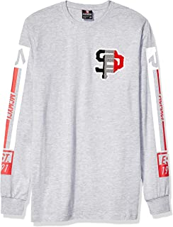 Southpole Men's Long Sleeve Chenille Tee