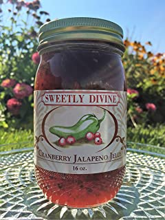 Sweetly Divine Hot Pepper Jelly (Cranberry Jalapeno)
