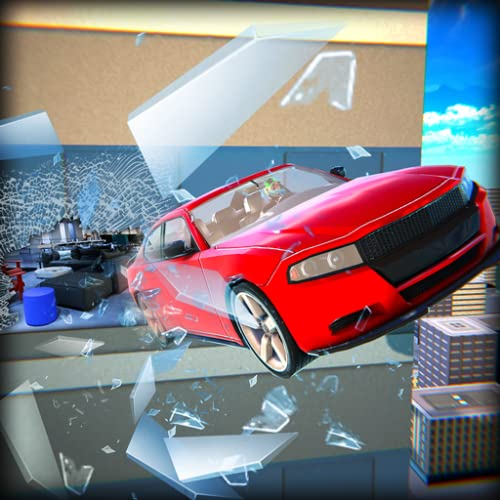 echt smash car hit edge stunts extremes auto stunts spiel