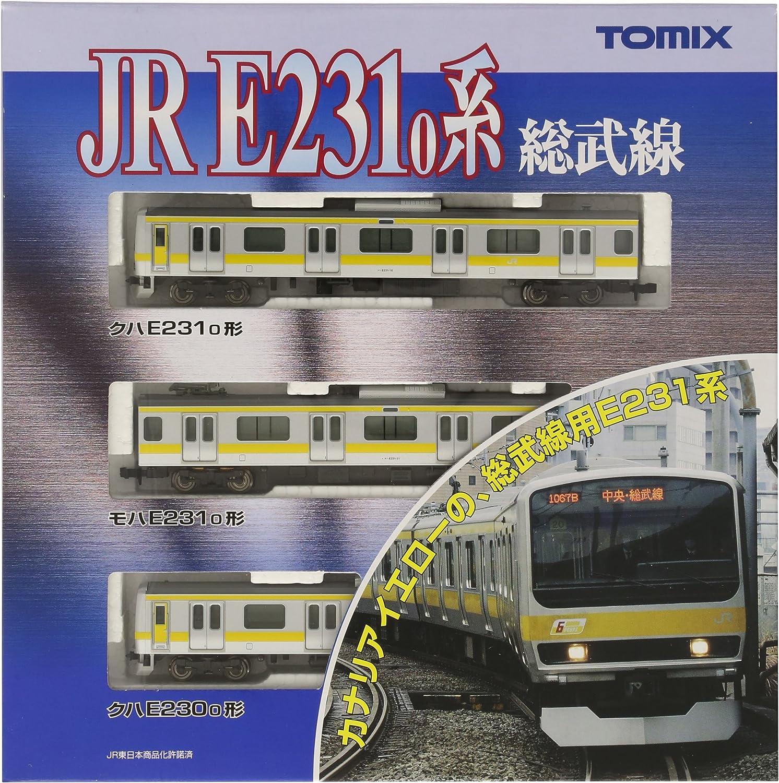 J.R. Commuter Train Series E2310 [Sobu Line] (Basic 3Car Set) (Model Train)