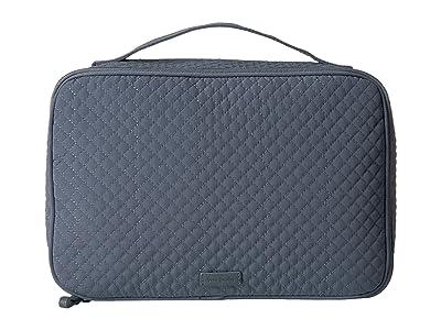 Vera Bradley Iconic Large Blush Brush Case (Charcoal) Luggage