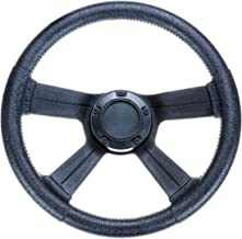 attwood 8315-4 Weatherproof 13-Inch Marine Boat Soft-Grip Steering Wheel with Cap
