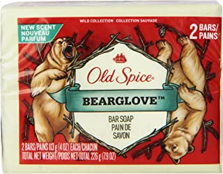 Old Spice Wild Collection Bearglove Men's Bar Soap 2 Count