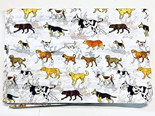 Man's Best Friend Dog Print Tissue Paper for Gift Bags 20 inch x 30 inch, Pack of 20