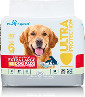 Paw Inspired Extra Large Puppy Pads in Bulk | XL Dog Pads | Dog Pee Pads | Puppy Training Pads, Potty Pads