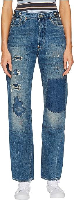 Levi's® Premium - Vintage Clothing 1915 501 Jeans Crop
