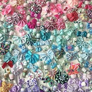 LPS Littlest Pet Shop 4 PC Random Skirt Bow Coffee Accessories Lot