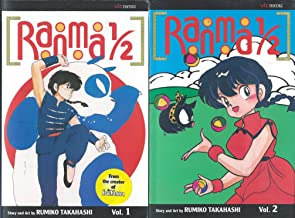 Ranma 1/2 Action (Ranma 1 2) Volumes 2 -6 Set