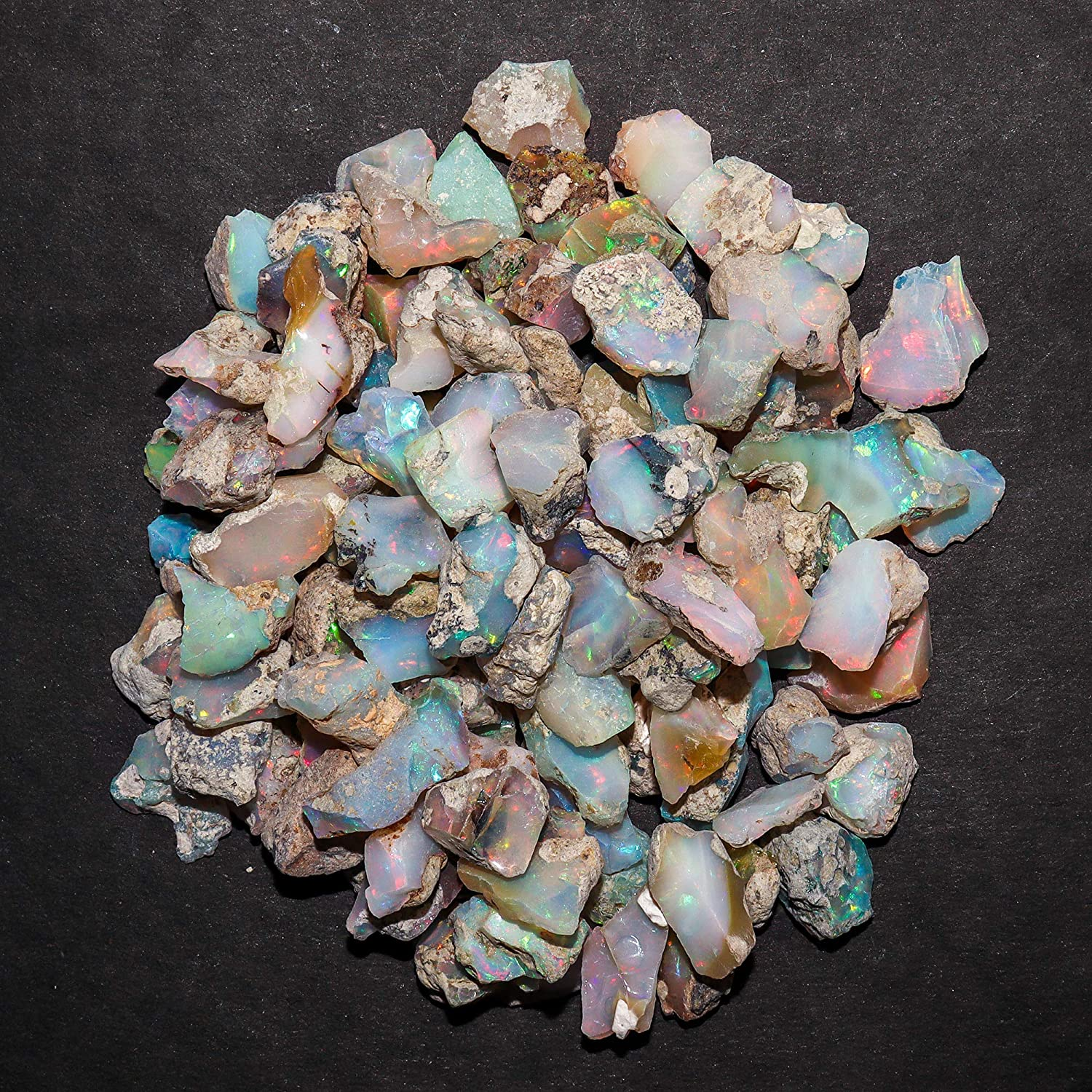 InfinityGemsArt AA+ 25 Cash special price carats Free shipping New Natural Stone Raw Opal Ethiopian
