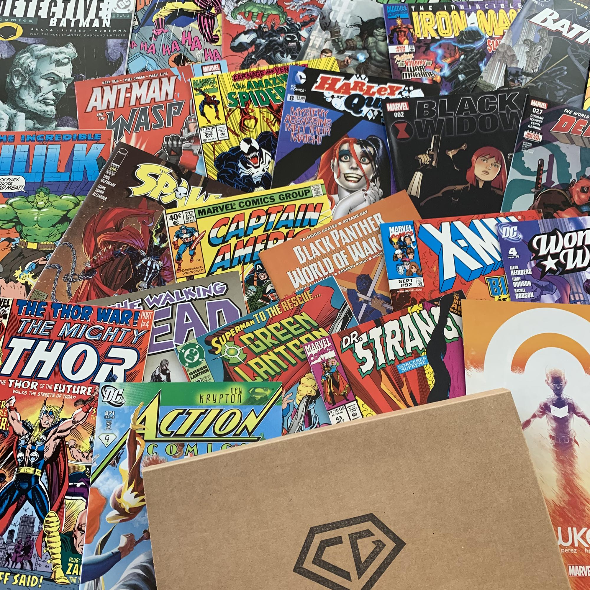 Product Image of the The Comic Garage Ultimate Box - Start a Collection or Expand on an Existing One...
