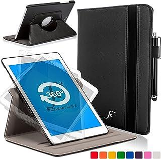 Forefront Cases Funda para Samsung Galaxy Tab 3 7.0 Rotatorio Funda Carcasa Case Cover – Extra Robusto y Protección Completa del Dispositivo (Negro)