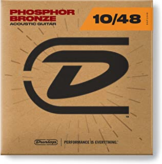 Dunlop DAP1048 Phosphor Extra Light 10-48 Acoustic Guitar Strings