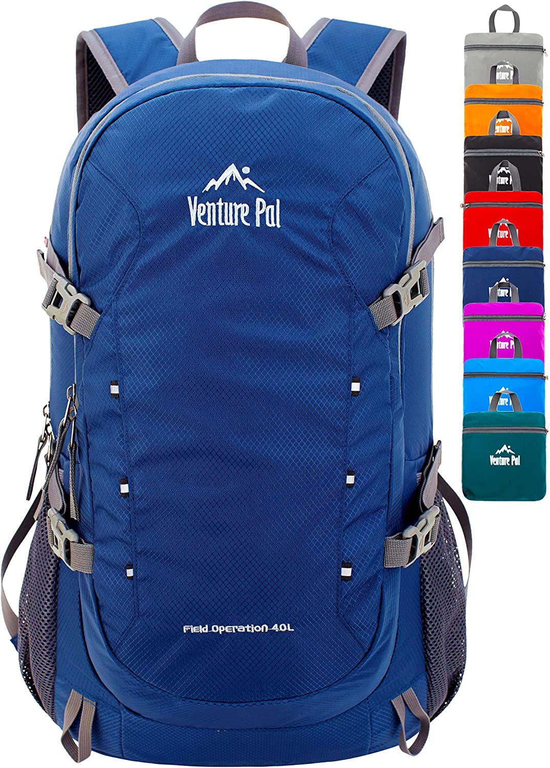 Venture Pal Topics on TV 40L Lightweight Packable Max 79% OFF Backpack Hiking Dayp Travel
