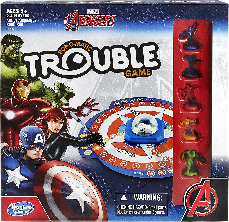 Hasbro Marvel Avengers Trouble Game