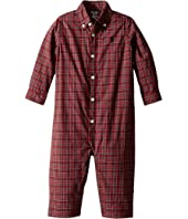 Ralph Lauren Baby - Plaid Cotton Poplin Coverall (Infant)