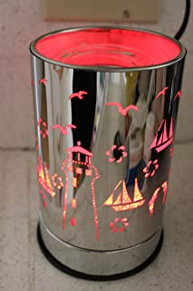 Navillus - Lighthouse Touch Lamp - Changes Colors!! Beautiful Design, Oil Warmer with dimmer in Multicolors Colors!!
