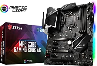 MSI MPG Z390 Gaming Edge AC LGA1151 (Intel 8th and 9th Gen) M.2 USB 3.1 Gen 2 DDR4 HDMI DP Wi-Fi SLI CFX ATX Z390 Gaming M...