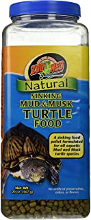 Zoo Med Natural Sinking Mud and Musk Turtle Food, 20 Ounces Each best prices on amazon