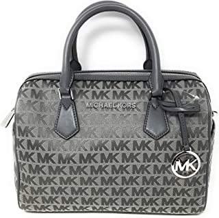 Michael Kors Bedford Cross Body Satchel Heather Grey
