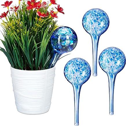 Bewässerungskugel 4er Set Durstkugel Wasserspender Gießhilfe Knospe Kunststoff