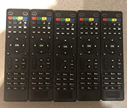 { Pack OF 5 } Artronix Replacement Remote Control for Tv Box Mag254 Mag250 Mag256 MAG 250 254 256 255 256 257 275 322 349 350 351 352 410 OTT IPTV Set Top Box