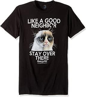Men's Grumpy Cat Good Neighbor Graphic T-Shirt
