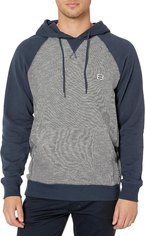 Billabong Men's Classic Pull Sweatshirt Over Hoodie Portland Mall New item Fleece